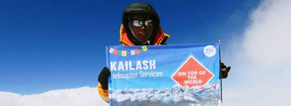 Kailash Helicopter on Mount Everest