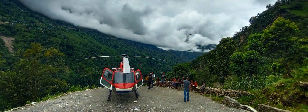 flood victim rescue nepal